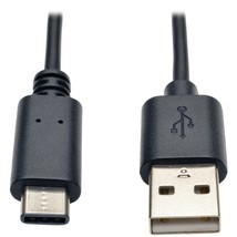 Tripp Lite U038-006 A-Male to USB-C Male USB 2.0 Cable (6ft) - $25.52