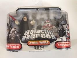 Star Wars Galactic Heroes Emperor Palpatine Shock Trooper 2006 - $11.02