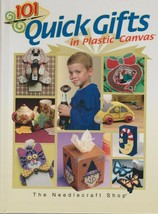 """Hard Covered Book- """"101 Quick Gifts in Plastic Canvas"""" The Needlecraft Shop - $18.00"""