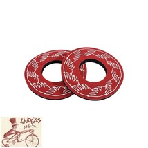 SE RACING BIKES  RED GRIP DONUTS--ONE PAIR - $7.91