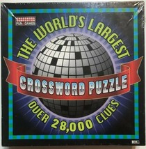 The World's Largest Crossword Puzzle 1997 - 91,000 Squares! New old stock - $22.20
