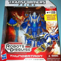 Transformers Robots In Disguise RID PRIME Voyager Class Thundertron Star... - $35.33