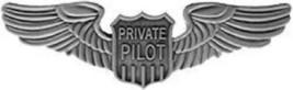 Private Pilot Wings Large Badge Pin - $9.89