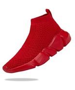 Santiro Kids Sneakers Boys Girls Breathable Lightweight (1 Little Kid|Re... - $27.64