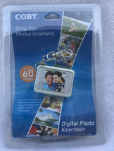 Coby DP151 Keychain Digital Photo Frame 2007 - 60 Photos New in Sealed P... - $14.01