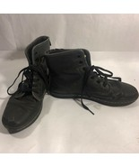 Doc Martens Shoreditch Air Wair With Soles Bouncing Black Lace Up Boots ... - $29.99