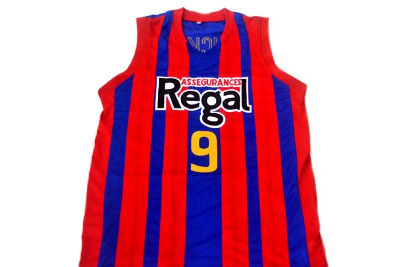 Rubio Ricky #9 Spain Espana Regal New Men Basketball Jersey Red Blue Any Size