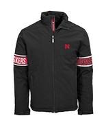 NCAA Nebraska Cornhuskers Adult men Tundra Team Text Jacket,S,Black - $54.95