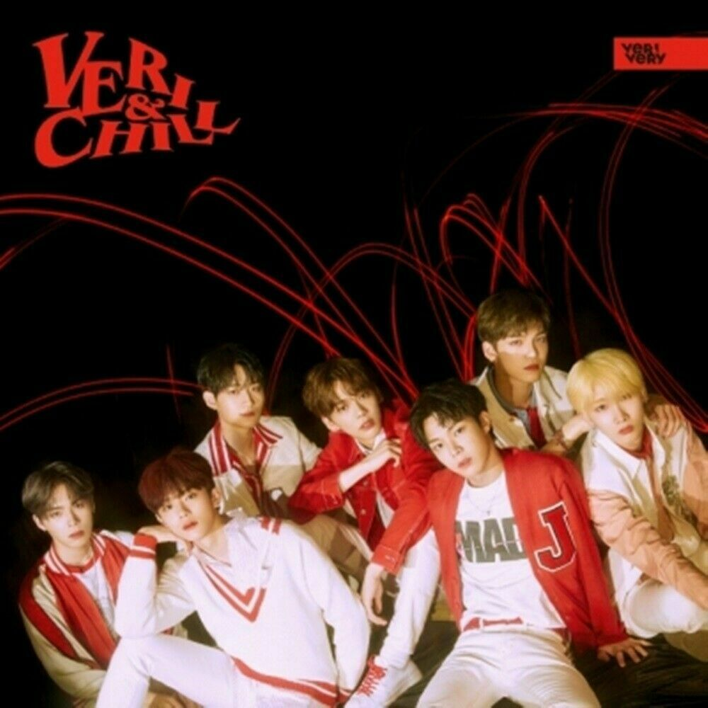 VERIVERY 1st Single Album [VERI-CHILL] OFFICIAL Ver CD+Booklet+2pPhotocard+Paper