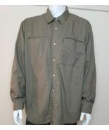 White Sierra Tactical Guide Shirt Mens Sz XL Vented Khaki Convertible Sl... - $21.76