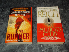 Christopher Reich lot of 2 suspense paperbacks - $3.99