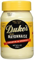 Duke's Real Mayonnaise - Two 8 Fl Oz Jars