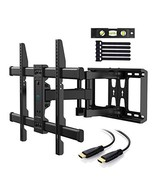 PERLESMITH TV Wall Mount Bracket Full Motion Dual Articulating Arm for M... - $45.67