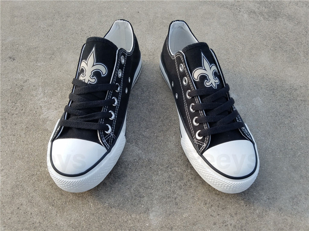 new orleans saints shoes saints sneakers super sowl fashion birthday gift for s