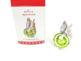 Hallmark Keepsake 2017 Little Somebunny New Parents Christmas Ornament i... - $10.95