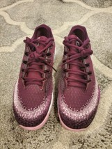 Nike air zoom vapor x knit Tennis Shoes Womens Size 9.5 Bordeaux pink ar... - $120.00