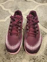 Nike air zoom vapor x knit Tennis Shoes Womens Size 9.5 Bordeaux pink ar8835-600 - $120.00