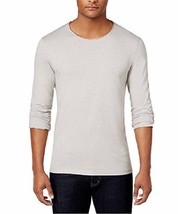 $40 Inc International Concepts Men's Long-Sleeve T-Shirt, Smoked Silver,... - $14.84