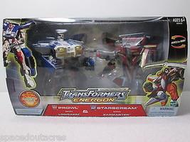 Transformers Energon Prowl w/Longarm & Starscream w/Zapmaster - Hasbro 2004 - $29.02