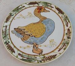 Vintage Goose Ceramic Plate Janet Rothwoman Stoneware Tray Platter Wall ... - $35.00