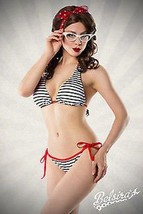 vintage-bikini in marine-look - $33.05+