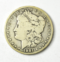 1901 S $1 Morgan Silver One Dollar US San Francisco Rare  - $34.64