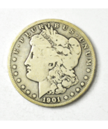1901 S $1 Morgan Silver One Dollar US San Francisco Rare  - $34.64