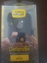 Otterbox Defender Case for iPhone 5C With Belt Clip Black New authentic - $58.78