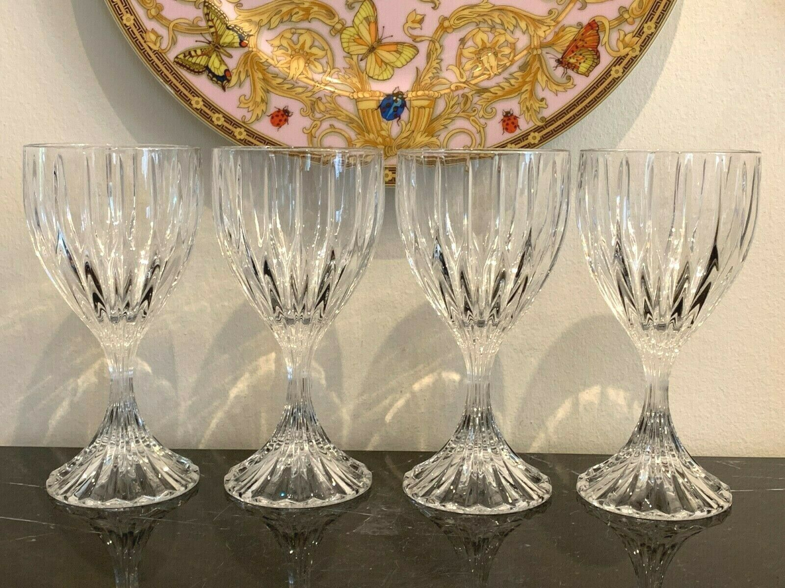 Primary image for Mikasa Park Lane Wine Glasses Set of 4