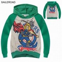 New Avengers Spring Autumn  Children Kids Boys Long Sleeve T Shirts Cott... - $16.03