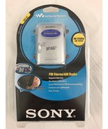 Sony SRF-59 Walkman Portable Personal AM/FM Stereo Radio and Headphones ... - $84.14