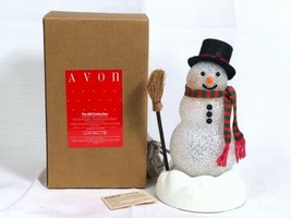 Vintage Avon Chilly Sam Light Up Color Change Snowman 1993 Gift Collecti... - $29.39