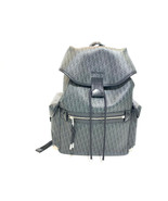 Dior Christian 1dlb050xis Grey Black Leather Backpack - $1,621.50