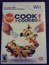 Nintendo Wii Cook or be Cooked w/ 30+ Food Network Recipes 2009 Cooking ... - $5.84