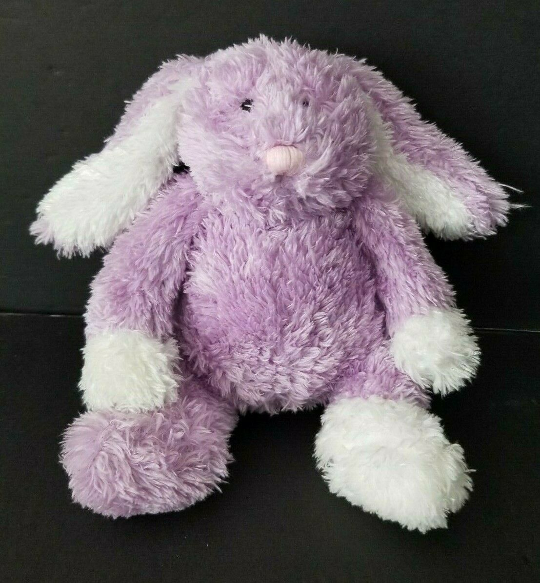 "Primary image for Manhattan Toys Purple Bunny Rabbit Plush Cream  7"" Stuffed Animal"
