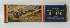 Vintage 1944 HOBBY #D30 'WACO CG-4A Tow Line Glider' 1:24 Airplane Model... - $95.00
