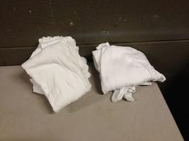 Mens 2XL White Tank Top Lot of 6 Hanes Ralph Lauren (ddb31) - $28.04