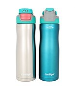 Contigo AUTOSEAL 20 Oz. Stainless Steel Water Bottle, 2 Pack, choose colors - £14.99 GBP+