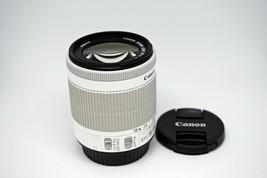 Canon EF-S 18-55mm F/3.5-5.6 IS STM For Canon 650D 700D 100D White NEW - Bulk image 2