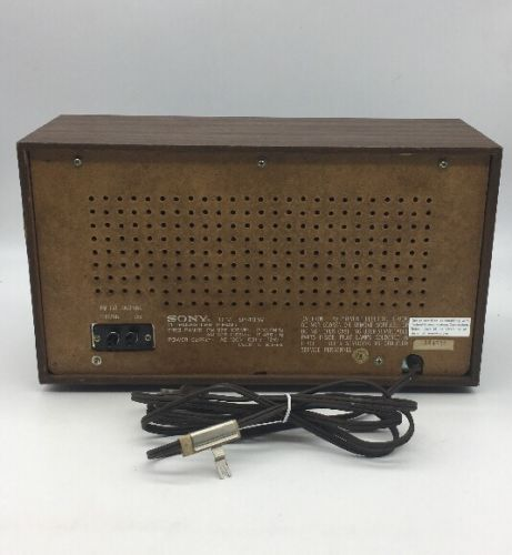 sony vintage am fm table radio tfm 9440w and 13 similar items. Black Bedroom Furniture Sets. Home Design Ideas