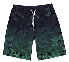 Alien Storehouse Fashion Quick-Drying Gradient Printing Beach Shorts For Men - $25.34