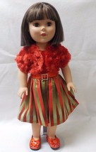 """18"""" Doll Christmas Dress to fit American Girl, My Life, Our Generation -... - $15.99"""