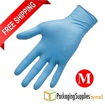 2500 Pcs 8 Mil Blue Nitrile Disposable Medical Gloves Powder-Free Size M... - $339.29