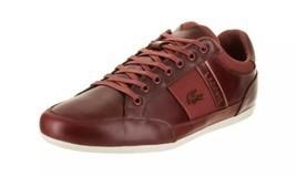 Lacoste Men Casual Sneakers Chaymon 318 7 U CAM Size US 11 Dark Red Off ... - £78.92 GBP