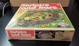 Vintage 1978 Marx Toys Tortoise & The Hare Game UNUSED! Made In USA FREE... - $69.95