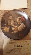 Normal Rockwell Plate made by Knowles American Fine China Newell Virginia - $25.00