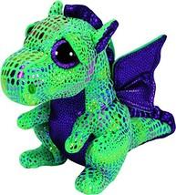 Ty Beanie Boos Cinder The Green Dragon Plush - $9.49