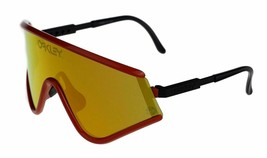 Oakley Augenmaske 30yr Heritage Collection Rot W / Fire Iridium 9259-05 - $328.24