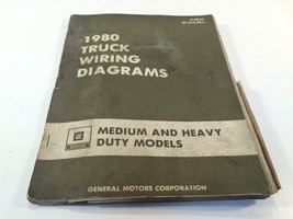1980 GM Medium And Heavy Duty Models Truck Wiring Diagrams + Supplement - $19.99