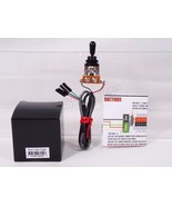 Black 3 Way Toggle Switch pre-wired for EMG pickups Solderless Shielded  - $27.71
